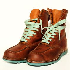 Resole Your Shoes and Boots with Colored Soles