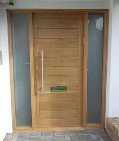 Bespoke External Solid Oak door set