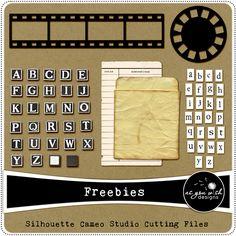 Free Cutting Files #Silhouette #Cricut #CutFile