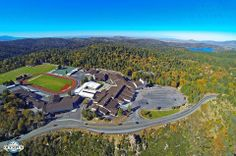 Aerial photo of Rim of the World High School