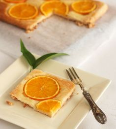 An Orange Tart That Is Difficult To Refuse from @Ana G. Vasconcellos