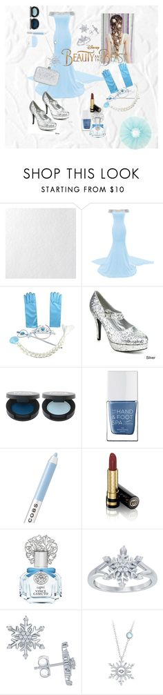 """""""Princess Elsa LookBook #the disneyprincess #beautyandthebeast"""" by erisha-shefer ❤ liked on Polyvore featuring Graham & Brown, Disney, Ellie, The Hand & Foot Spa, Marc Jacobs, Gucci and Vince Camuto"""