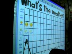 Excellent ideas for daily calendar - smartboard, file folder, all kinds of ideas