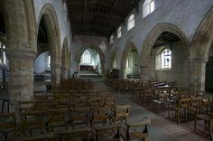 Burton Dassett Church Cromwell kept his horses here before Edgehill see Shakespeares Scenery