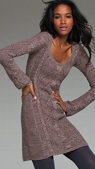 Cable-knit Scoopneck Sweaterdress from Victoria's Secret. Shop more products from Victoria's Secret on Wanelo. Victoria Secret Dress, Victoria Dress, Victoria Secrets, Winter Dresses, Summer Dresses, Cable Knit Sweater Dress, Colorblock Dress, Beach Dresses, Online Clothing Stores