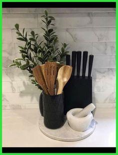 More About New Kitchen Countertops Kitchen Decor Sets, Decorating Kitchen Counters, Spring Kitchen Decor, Kitchen Staging, Kitchen Themes, First Apartment Decorating, Küchen Design, Interior Design, Lobby Interior