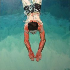 Samantha FRENCH. Dive in [oil on canvas], 2011.