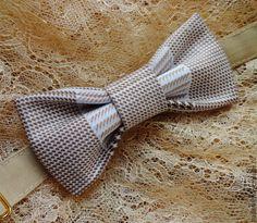 """Купить Галстук бабочка """"Кофе-брейк"""" - в клеточку, бабочка галстук, галстук бабочка купить"""