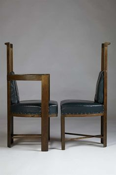 Set of dining chairs, designed by Eliel Saarinen for Keirkner residence, | From a unique collection of antique and modern chairs at https://www.1stdibs.com/furniture/seating/chairs/