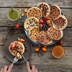 Oatmeal Pancakes (Vegan, Gluten free)