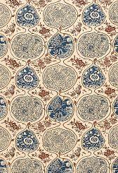 Fabric | Katsugi in Indigo & Cinnabar | Schumacher