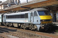 April 2011 90001 stands at Ipswich with a service to Shenfield Electric Locomotive, Diesel Locomotive, Union Pacific Train, Network Rail, Liverpool Street, Corporate Identity Design, British Rail, Train Engines, Rolling Stock