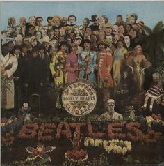 The Beatles Sgt. Pepper's Lonely Hearts Club Band Indian vinyl LP PCS7027: THE BEATLES Sgt. Peppers Lonely Hearts Club Band (Rare 1970s…