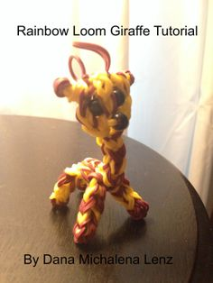 Rainbow Loom Giraffe Tutorial