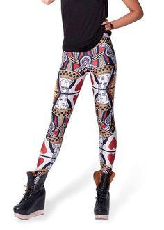 Queen of Hearts Leggings