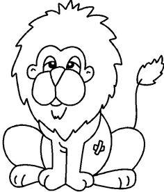 Coloriage Dans la foret ! Lion, Charlie Brown, Sewing, Fictional Characters, Templates, Christmas, School, Pictures To Paint, Blouse