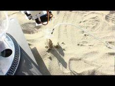 This 3D Printer Can Turn Sand Into A Bridge #ZAGGdaily #3DPrinter