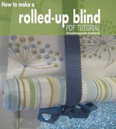 Amazing and Unique Tricks: Wooden Blinds Modern blinds for windows design.Living Room Blinds How To Make fabric blinds kitchens. Roll Blinds, Roll Up Curtains, Diy Blinds, Fabric Blinds, Diy Curtains, Diy Roller Blinds, Porch Valance, Sewing Curtains, Privacy Blinds