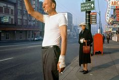Wonderful Color Photographs Of Street Scenes From Between The 1950s And 1970s