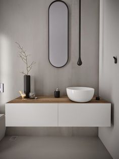 Minosa: Powder Room - Something different is becoming Normal. Minosa: Powder Room - Something different is becoming Normal. Modern Bathroom Design, Contemporary Bathrooms, Bathroom Interior, Bad Inspiration, Bathroom Inspiration, Bathroom Ideas, Bathroom Organization, Organization Ideas, Bathroom Inspo