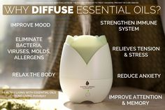 Why Diffuse Young Living Essential Oils | healthylivinghowto.com