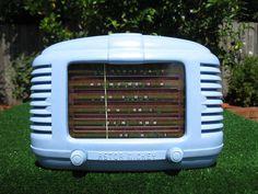 Rare Astor Mickey KL Bakelite Vintage Valve Radio