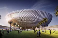 Mohammed bin Rashid Stadium | Architect Magazine | Perkins+Will, Dubai, Sports, Mixed-Use, Entertainment Projects, Recreational Projects, Sports Projects