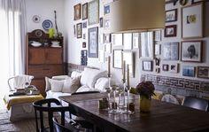 Maria hat ihrer 300 Jahre alten Lissaboner Wohnung einen neuen Anstrich verpasst und ihr so neues Leben eingehaucht.