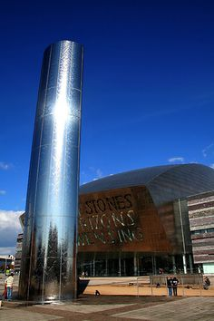 Millenium Center, Cardiff, Wales. I started my mission just down the street from here! :)
