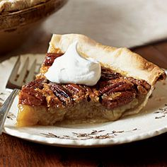 Pecan Pie with Spiked Cream - Perfect Pecan Pie Recipes - Cooking ...