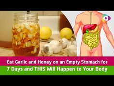 Eat Garlic and Honey on an Empty Stomach for 7 Days and THIS Will Happen to Your Body! - Tubeston