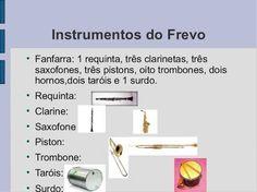 frevo instrumentos - Pesquisa Google