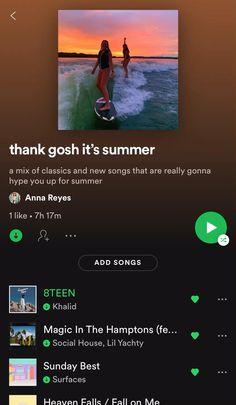 Dance Music Playlist, Spotify Playlist, Summer Playlist, Summer Songs, Music Mood, Mood Songs, Depressing Songs, Playlist Ideas, Music Recommendations
