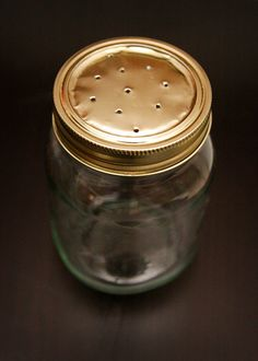 Lightening bug jar with breathing holes