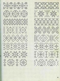Embroidery stitches border fair isles 57 new ideas Cross Stitch Bookmarks, Cross Stitch Borders, Crochet Borders, Cross Stitch Charts, Cross Stitch Designs, Cross Stitching, Cross Stitch Embroidery, Cross Stitch Patterns, Fair Isle Knitting Patterns
