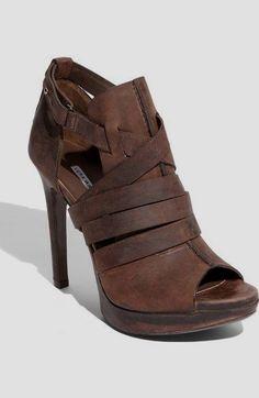 1fb8e8b55d961 Vera Wang Lavender  Cara  Bootie  heels classy simple Platform Pumps