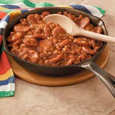 Baked Beans! Yummy Baked Beans!