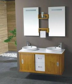 Bathroom Vanity Love The Floors Walnut Cab Gray