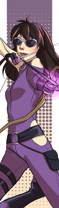 Young Avengers Hawkeye (Kate Bishop)