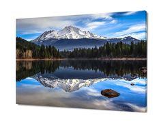Cyber Monday Satrts Now! Huge California Panorama Mt. Shasta Decor, Peaceful Fine Art by SusanTaylorPhoto on Etsy