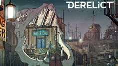 Derelict is a webcomic about a flooded world inhabited by strange monsters. It largely follows the adventures of a lone scavenger simply trying to get by in a dangerous environment, while in the background the world and its remaining people try to adapt to life after an apocalypse.