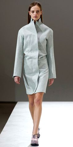 Runway Looks We Love: Our 100 Favorite Looks from London, Milan, and Paris Fashion Week Fall/Winter 2014 - Jil Sander: Milan from #InStyle