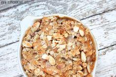 Almond Peach Crisp Recipe | I Can Cook That