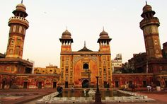 Lahore's Wazir Khan Mosque is one of the Three Pakistani mosques placed in list of world's beautiful mosques |  Constructed in the 17th century in the time of Mughal King Shahabuddin Muhammad Shahjahan. It is made of cut and dressed bricks laid in kankar lime, with some red sandstone in the gate. It is decorated with fresco paintings and tiles with cobalt, cerulean blue, green, orange, yellow, and purple as its predominant colors.