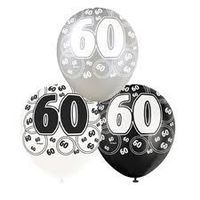 How to plan your 60th birthday party!