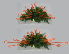 Learn how to make table centerpieces, bridal bouquets, corsages, boutonnieres and church florals. Buy wholesale flowers and discount florist supplies. Funeral Floral Arrangements, Tropical Flower Arrangements, Church Flower Arrangements, Christmas Arrangements, Beautiful Flower Arrangements, Deco Floral, Arte Floral, Diy Flowers, Flower Decorations