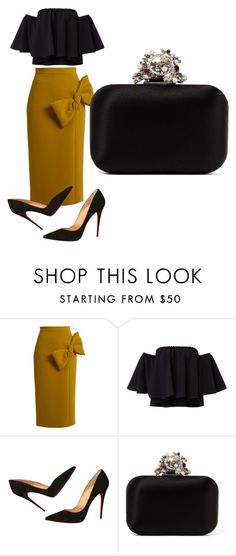 """Classic Elegance"" by funstyleloving on Polyvore featuring Roksanda, Christian Louboutin and Jimmy Choo"