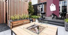Shop the Look: de NYC tuin in Haarlem! Villa, Deck, Patio, Mansions, World, House Styles, Garden, Outdoor Decor, Inspiration