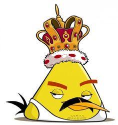 Fred Mercury em sua versao Angry Birds