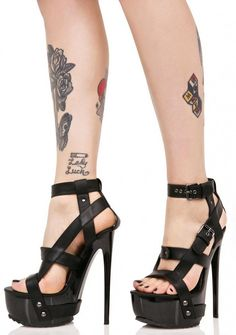 Y.R.U. X Buckled Heels Sexy siren vibe from these!